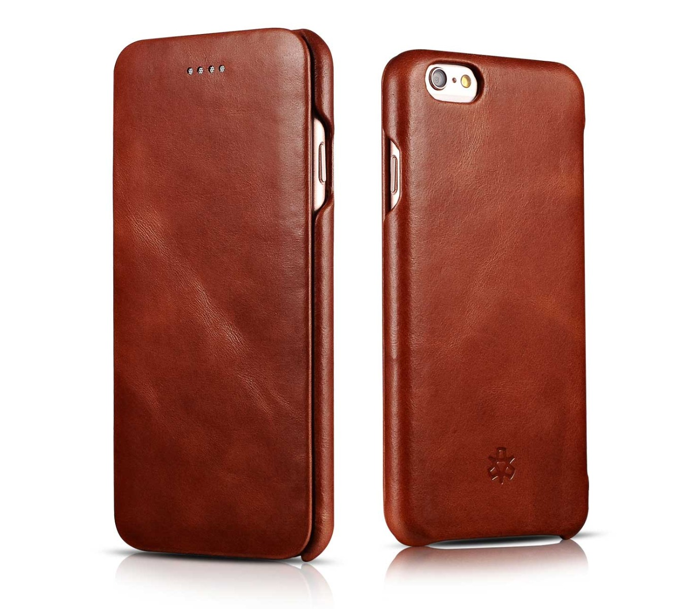 novada vintage iphone 6 6s genuine leather case tan